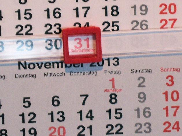 welche bundesländer haben am 31.10 frei