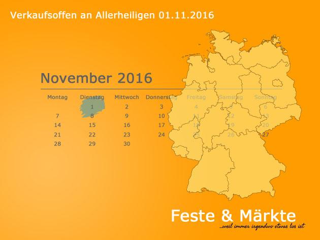 Hessen Allerheiligen Feiertag