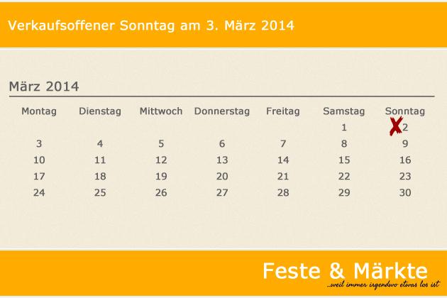 Zum Verkaufsoffenen Sonntag Laden Am 02.03.2014 U.a. Zahlreiche Center Rund  Um Berlin, Flensburg
