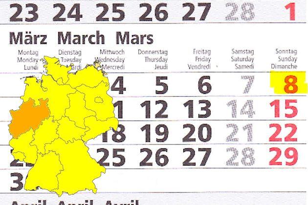 Verkaufsoffener Sonntag Am 08032015 In Nordrhein Westfalen Feste