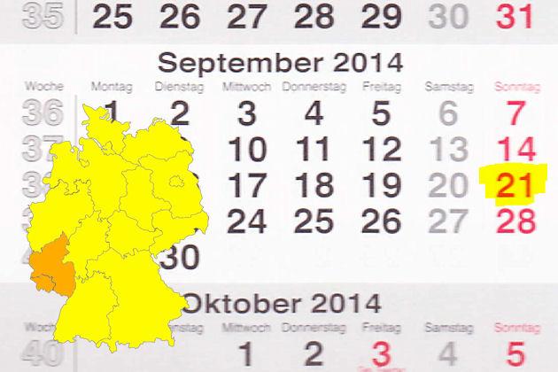Verkaufsoffener Sonntag Am 21 09 2014 In Rheinland Pfalz Und